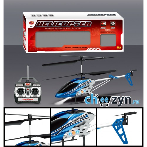 Wireless 3-CH Semiremote Control Helicopter With Gyroscope