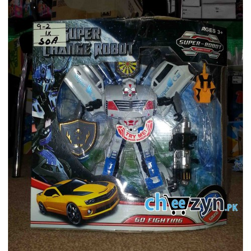 Super Car Transformer Toy