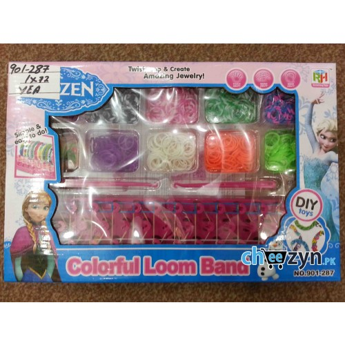 Colourful Frozen Loom Band Set - Large
