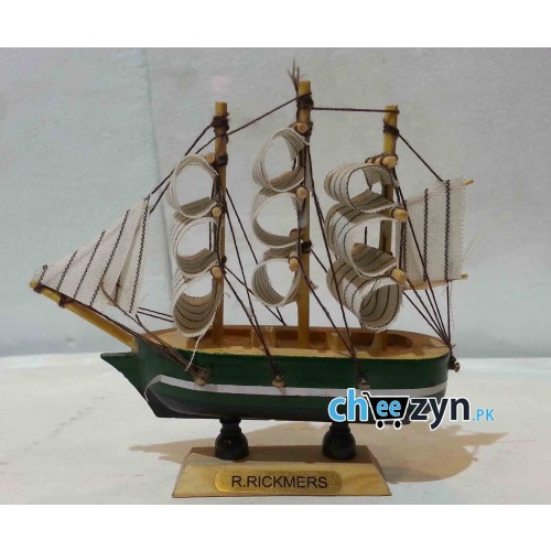 Mini Hand Made Wooden Ship Model