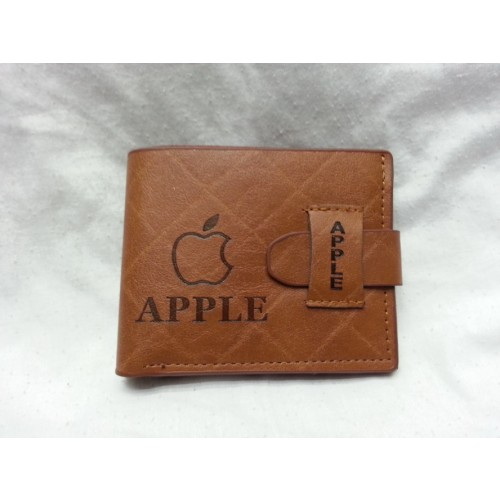 Apple Pure Leather Wallet