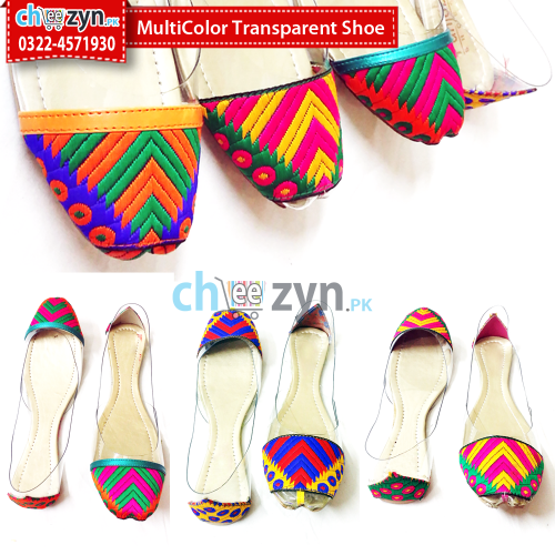 Multicolore Transparent Shoe