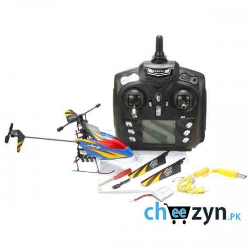 2.4G 4CH Single Propeller RC Helicopter With Gyro
