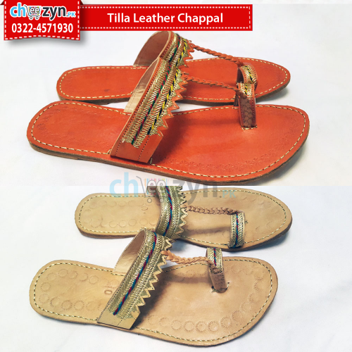 Tilla Leather Chappal