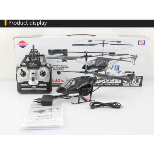 Lucky RC Helicopter with HD Spy Camera