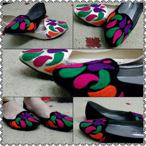 Classic Embroidered Shoes