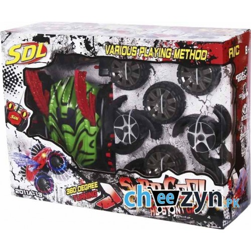 SDL Stunt Toy Car With Multiple Wheel Sets
