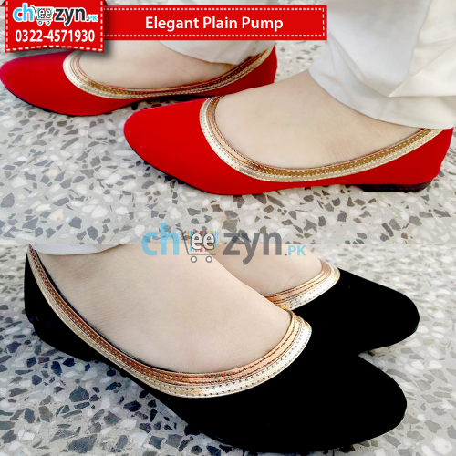 Elegant Plain Pump