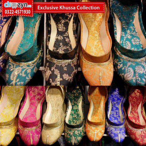 Exclusive Khussa Collection