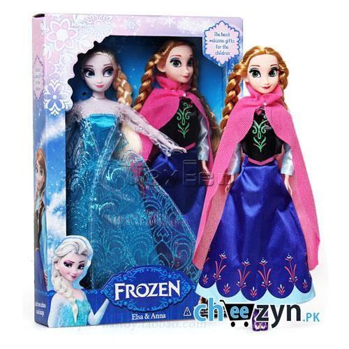 Frozen Elsa & Anna Dolls