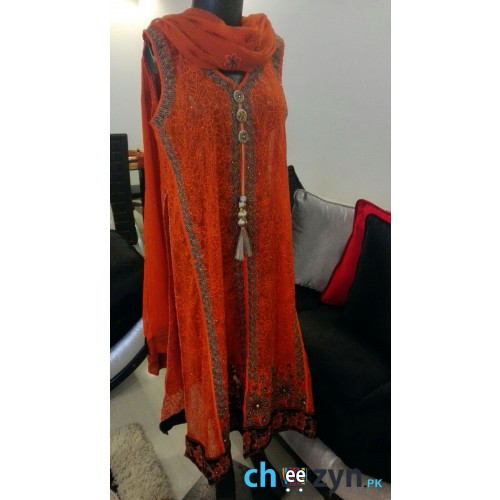Designers Special Chiffon Embroidered Suit