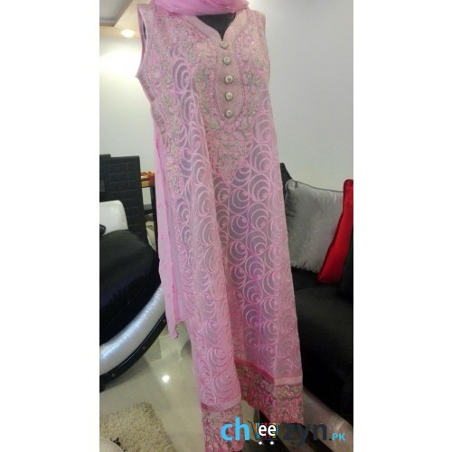 Chiffon Suit With Tilla Embroidery