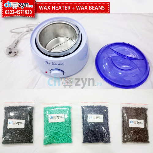 Hard Wax Beans + Wax Heater