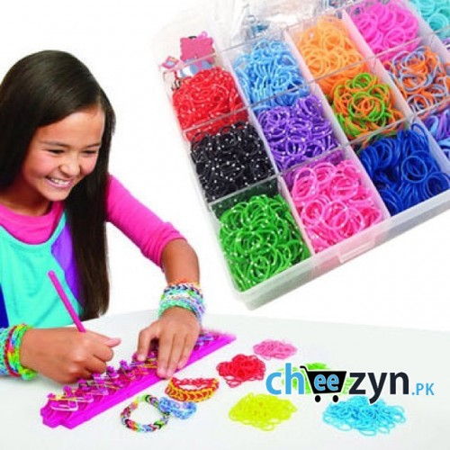 Barbie Loom Band Set With 600 Looms