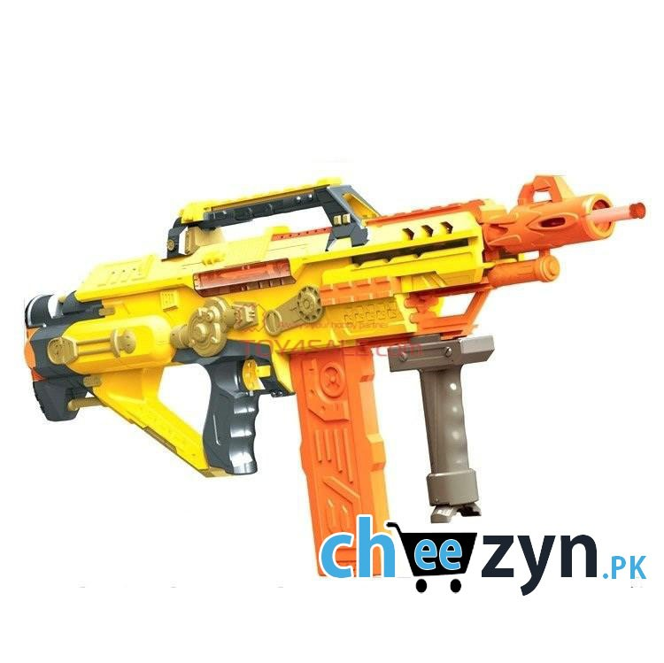 Powered by 4 'C' batteries, the Regulator will feature single-fire, 3-round  burst-fire, and full-auto fire modes, along with two tactical ...