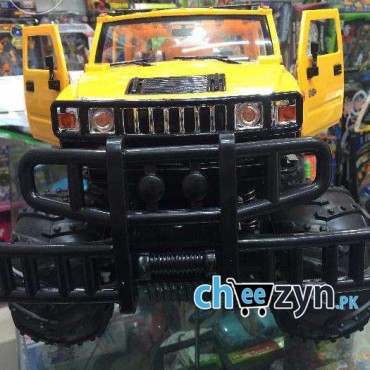 1:12 Big Foot Hummer H2 With MP3 Radio RC Car