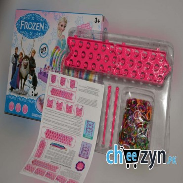 Colourful Frozen Loom Band Set - Medium
