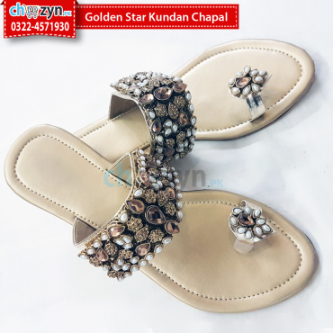 Golden Star Kundan Chapal