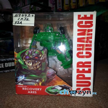 Super Change Green Transformer Toy