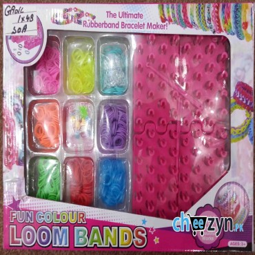 Fun Colour Loom Band Large Set