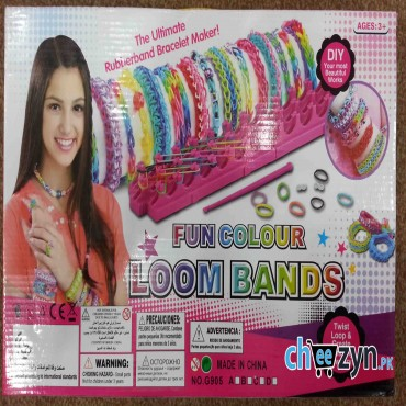 Fun Colour Loom Band Set