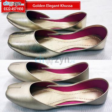 Golden Elegant Khussa