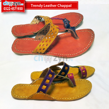 Trendy Leather Chappal