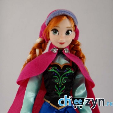 Frozen Anna Doll With Accessories