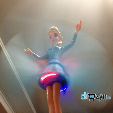 Frozen Flying Doll