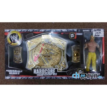 WWE Championship Belt With Action Figure