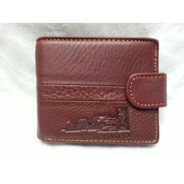 Levis Premium Red Leather Wallet