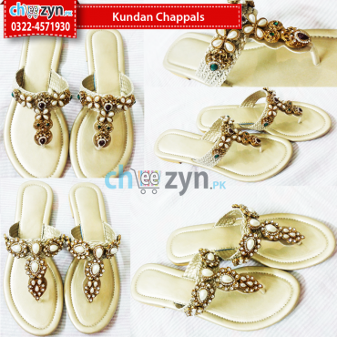 Kundan Chappals