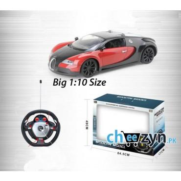 Large 1:10 Bugatti RC Car With Sound