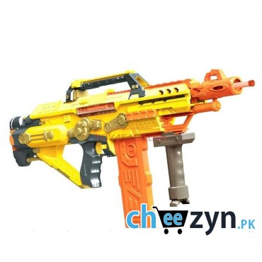Heavy Shock-Wave Fully Automatic Soft Bullet Gun