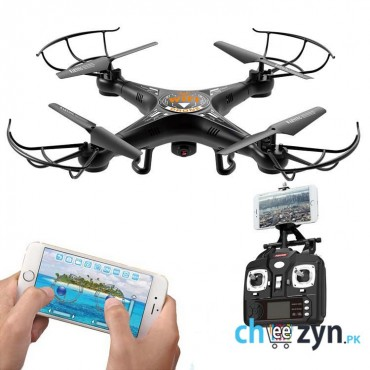 FPV Live View/Wifi Quadcopter With Mobile Control