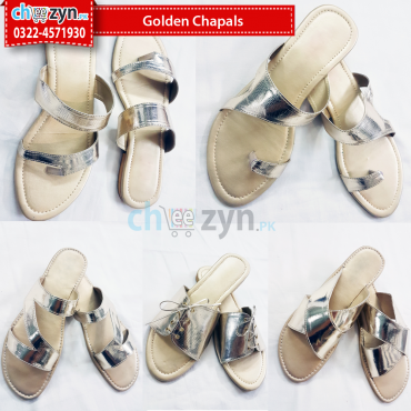 Golden Chappals