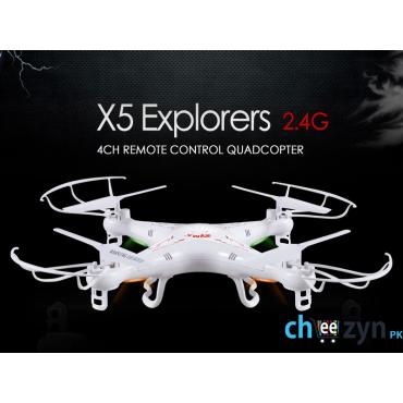 Syma X5 Explorers QuadCopter (Supports Camera)