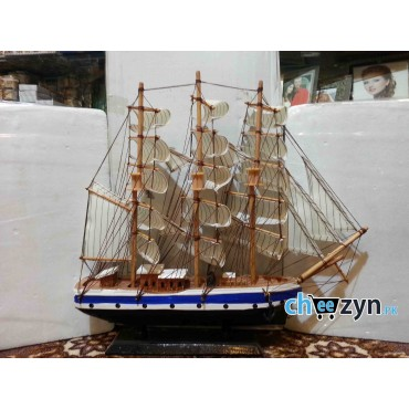 Big Size Hand Made Wooden Ship Model