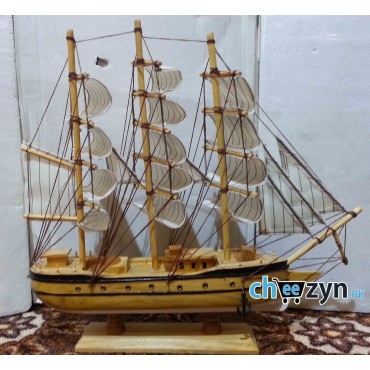 Hand Made Wooden Ship Model