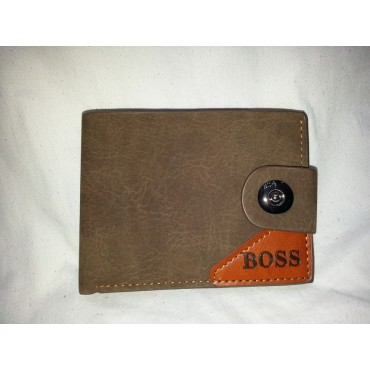 Boss Leather Wallet