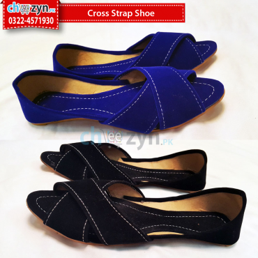 Cross Strap Shoe