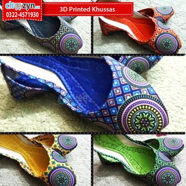 3D Printed Khussas