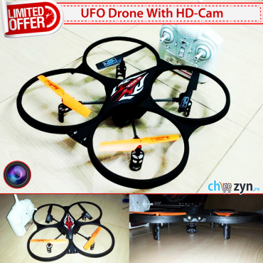 DEAL - F523 6-Axis Gyro RC Quadcopter + HD Camera