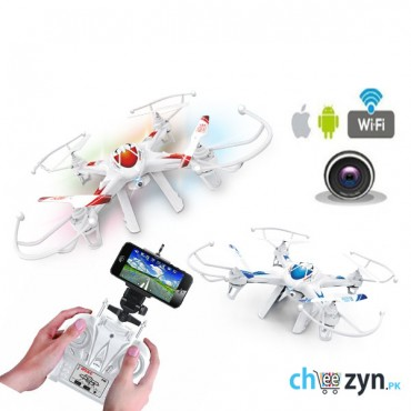 LH X8 Fpv Live view With Wifi Auto Return Headless Mode Quadcopter