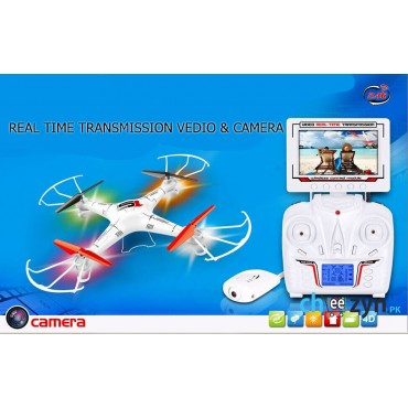 (Upgraded) LH-X6 Fpv Live View Screen Quadcopter With Auto Return & Headless Mode