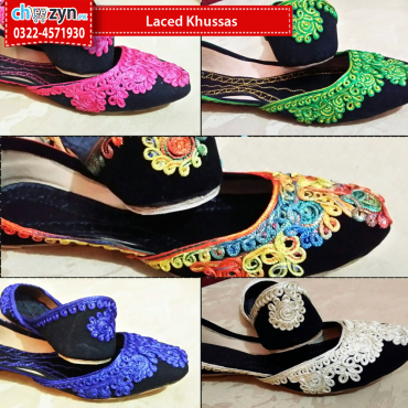 Laced Khussas