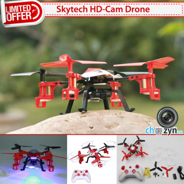 DEAL - Skytech RC Quadcopter + HD Camera