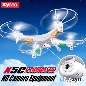 Upgraded Syma X5C Explorers QuadCopter with Camera