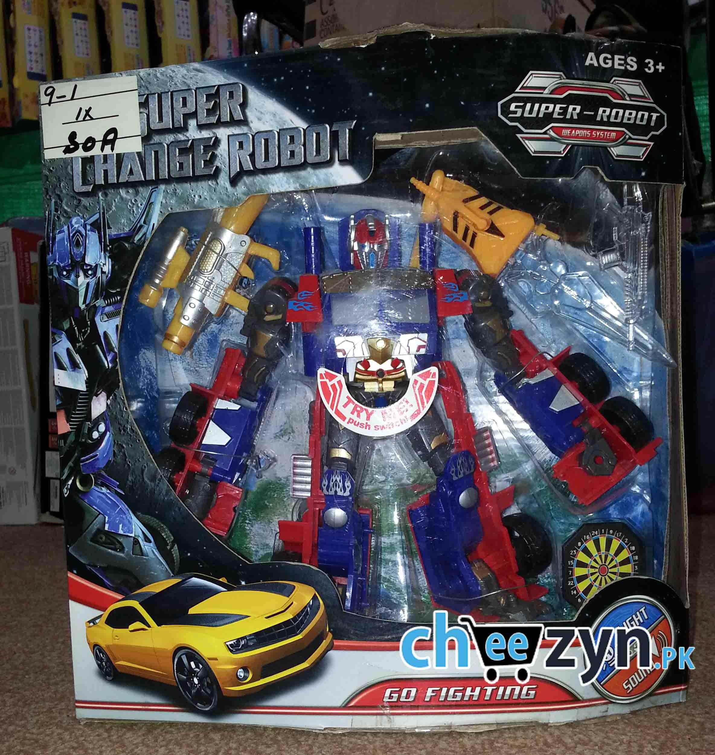 Optimus Prime Transformer Toy line Shopping in Pakistan